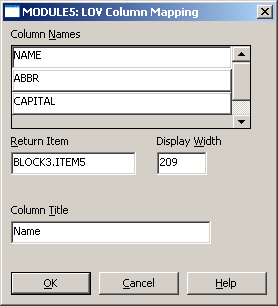 Implementing List of Values (LOV) in C# WPF - Oracle Forms to  NET